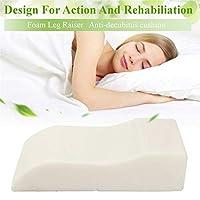 通気性と取り外し可能なカバーとサイド枕木のメモリ泡の膝枕、 - 調整可能なウェッジ枕