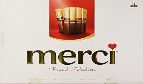 merci Finest Selection – 2er Pack (2 x 400g Packung) – große Vielfalt – das Dankeschön von Herzen – erlesene Schokoladen-Spezialitäten