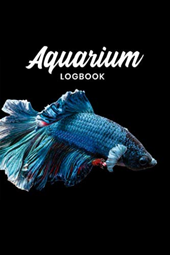 Aquarium Fish Tank Fishkeeping Log Book Journal Notebook Diary Planner - Blue Monster: Aquaristics Record with 120 Pages In 6' x 9' Inch - Gift Idea for Zoologists & Marine biologists