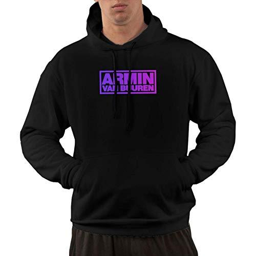 Hombres Armin Van Buuren Logo Graphic Pullover Sudadera con capucha