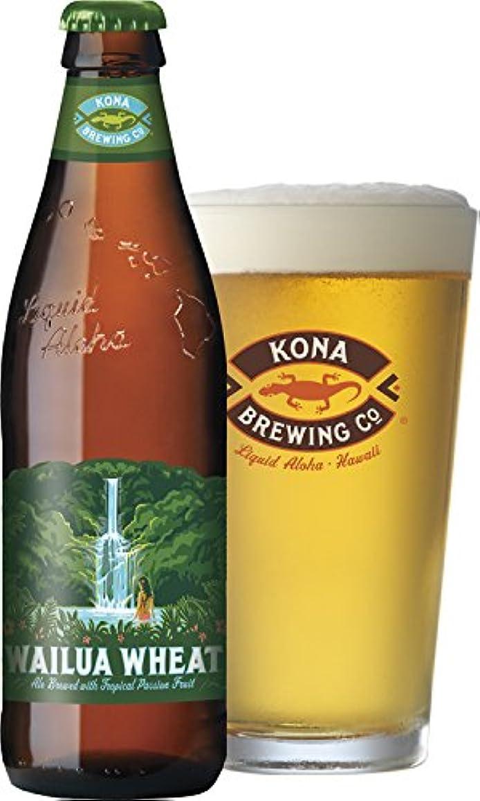 山岳療法振るさわやかなパッションフルーツのホワイトビール ワイルア?ウィート 355mlボトル×6本