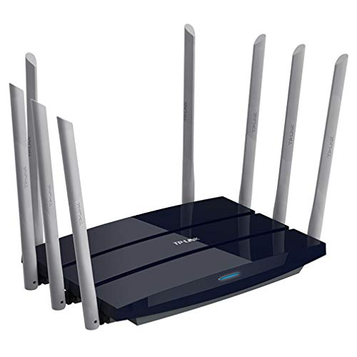 MaiTian WiFi router 2533Mbps WiFi repeater 2,4 g/5 GHz Dual-Frequency Application Control WiFi Wireless Router met 8 x 6dbi High Gain antenne, bredere dekking en eenvoudig te installeren