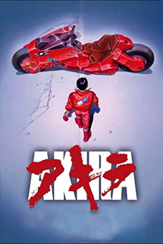 AKIRA: Anime Journal Notebook, Perfect For Journaling, Writing, To Do List... Japanese...