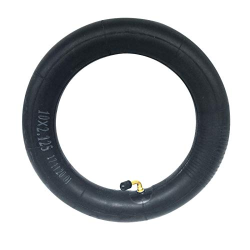 QOTSTEOS 10inch Scooter Inner Tube, Universal Replacement Inner Tube for Electric Scooters, Balance Cars, etc, Suitable for 10X2.0/2.125/2.25/2.50