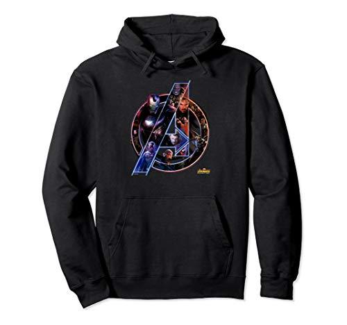 Marvel Avengers Infinity War Neon Team Graphic Hoodie