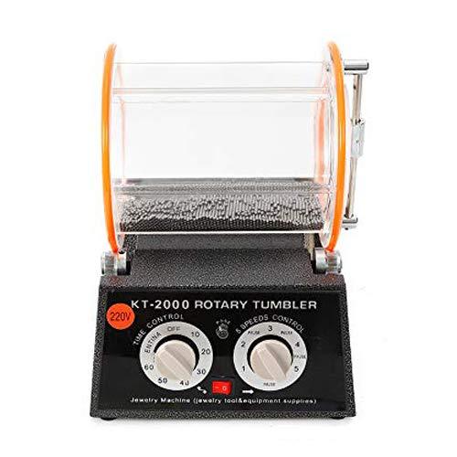 Poliermaschinen Poliertrommel Kugelmühle Rotationspolierer Poliermaschine 5 / 3KG Rotary Jewelry Polisher Finisher (5kg)