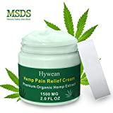 Hywean Anti-entzündliche Hanf creme 1500MG, 60G Hemp Healing Ointment für Rücken, Knie, Hände,...