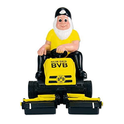 Borussia Dortmund BVB-Gartenzwerg Aufsitzmäher one Size