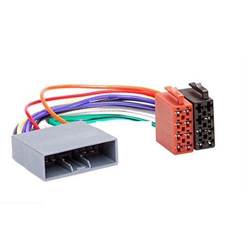 CARAV 12-011 Adaptateur radio ISO câblage Fil Harnais connecteur Laisse Loom Câble adaptateur prise stéréo