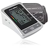 "ChoiceMMed Blood Pressure Monitor - Standard BP Cuff Meter with Display - Standard Size Blood Pressure Machine 8.6""-14.2"" - Blood Pressure Tester with Carrying Bag - Blood Pressure Gauge with Memory"