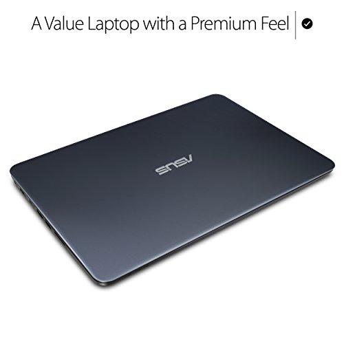 ASUS VivoBook 14 Thin, Lightweight and Portable Laptop, AMD A9 CPU, Radeon-R5 Graphics, 8GB RAM, 256GB SSD, USB-C, Windows 10