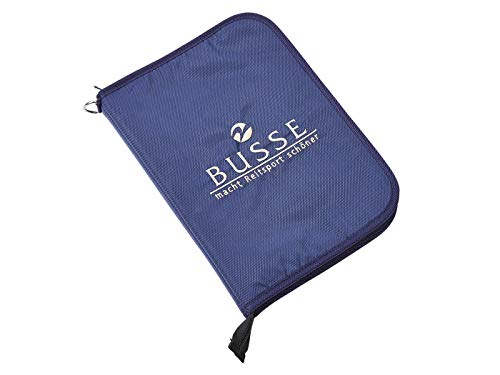 BUSSE Equidenpass-Mappe RIO, navy, 28.5x20.5x3