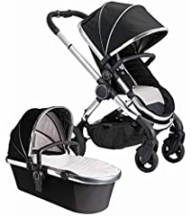 5-YEAR WARRANTY Includes Bassinet with luxury quilted fabrics & leatherette carry handle. Suitable for overnight sleeping World & Parent facing seat unit with one-hand recline and buckle release, multi functional hood. Compact chassis with auto-fold ...