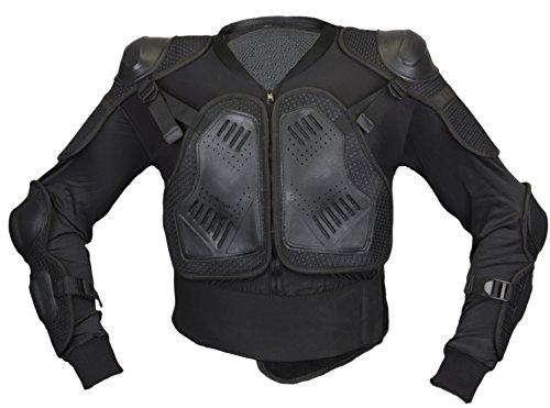 MDM Protektorenhemd Rückenprotektore Brustpanzer Mountain Bike (3XL)