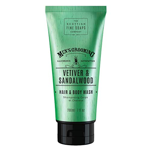 Gel douche cheveux & corps VETIVER 200 ml