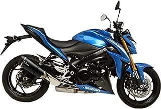 16-17 Suzuki GSX-S1000: Leo Vince Factory S Slip-On Exhaust (Carbon Fiber)