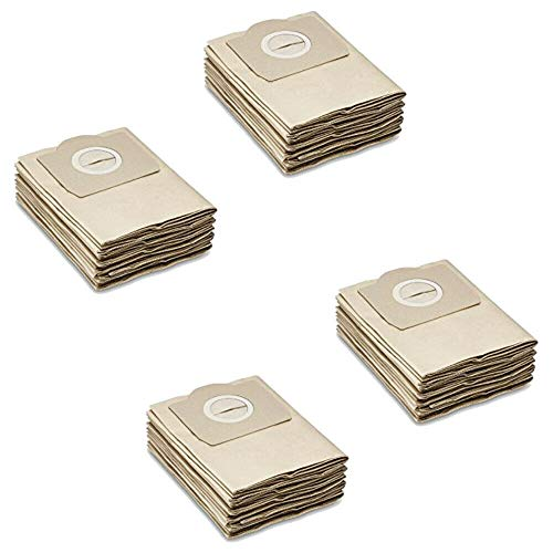 Verschluss 4.075-012.0 passend f/ür K/ÄRCHER WD2 WD3 MV2 MV3 A2054 A2201 5 Papier-Filter-T/üten wie 6.959-130.0 Patronenfilter wie 6.414-552.0