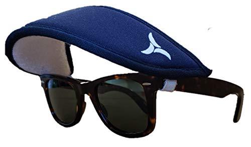 SolaVisor - The Visor That attaches to Your Sunglasses Navy Blue