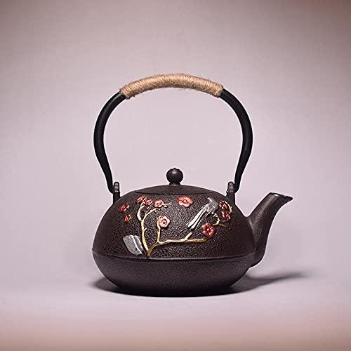 ZHSDTHJY Coffee Mugcreative Cast Iron Teapot Handmade Household Cast Iron Kettle