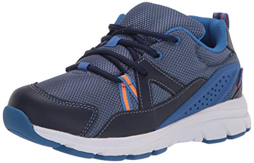 Stride Rite Boy's Made2Play Journey Athletic Sneaker, Navy, 6 XW US Toddler