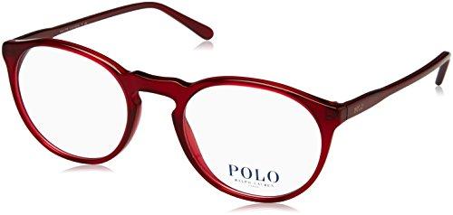 Ralph Lauren Damen 0PH2180 Brillengestell, Rot (Red), 50 EU