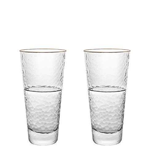 Copas de vino Copa de vidrio en relieve nórdico retro taza de agua femenino insecto simple viento bebida agua taza taza taza taza (Color : B)