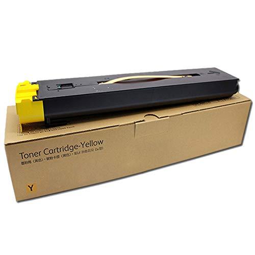 Toepasselijke V80 Powder Box digitale kopieerapparaat kantoorbenodigdheden milieuvriendelijk afdrukken niet-destructieve machine afval poeder minder size Geel