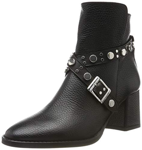 Marc Cain Damen Ankle Boot Stiefeletten, Schwarz (Black 900), 40 EU
