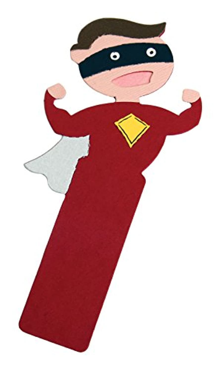 Ellison Superhero Bookmark Sure Cut Die, Large