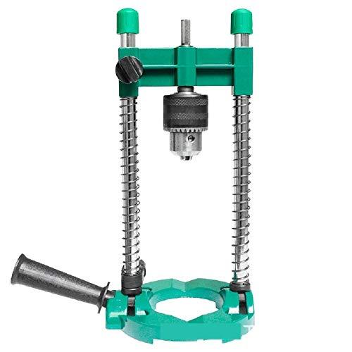 SZMYLED Bohrmaschinen-Halterung, universell, für Mikro-Bohrhammer-Bohrer, verstellbarer Winkel, Bohrmaschinenpresse