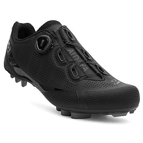 Spiuk Sportline MTB C Zapatilla XC ALDAPA Carbono, Adultos Unisex, Negro Mate, T. 39