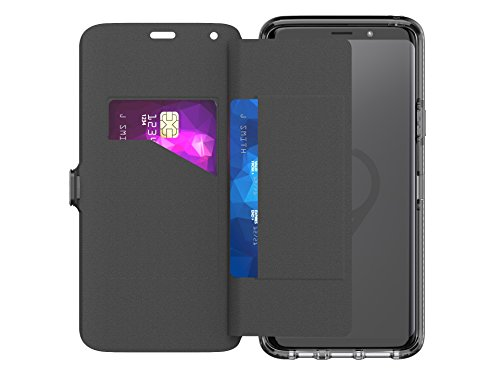 tech21 T21-5842 Evo Wallet Protective Case for Samgsung Galaxy S9+ Black