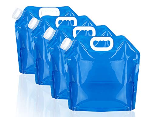4 pack of water containers for multiple uses