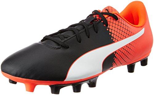 Puma Herren EVO SPEED 5.5 FG 103596 Fußballschuhe, Schwarz black White-Red blast 03, 44 EU