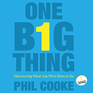 One Big Thing audiobook cover art