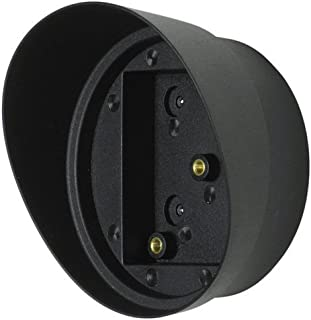 SECO-LARM E-931ACC-HR1Q ENFORCER Hood for Photoelectric Beam Sensor Reflectors, Use with either circular or square reflectors, Protects reflector from dirt and reduces interference with IR beam
