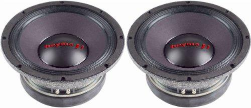 "Pair of (2) Brand New Beyma Pro8mi 8"" Competition Series 400 Watt 4 Ohm Mid-bass/midrange Speakers"