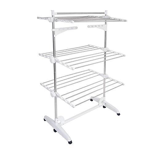 Ikea tendedero 16 Pinzas para la Ropa para Colgar Pressa Blanco