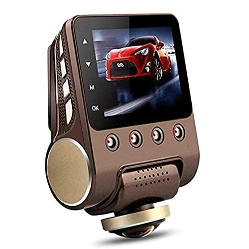 QCHEA 360 Grados 2.5' WiFi Dash CAM HD del Coche Grado panorámica de conducción ocultada visión Nocturna de Gran Angular Aparcamiento Monitoreo con luz infrarroja