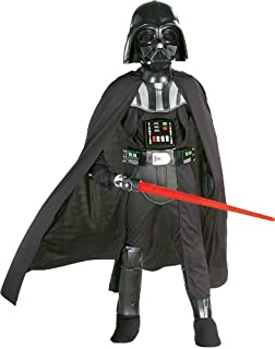 Rubies Star Wars Classic Child's Deluxe Darth Vader Costume and Mask, Small