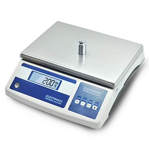 Bilancia for Gioielli 28 Kg 0,1 G Bilancia da Laboratorio Negozio di Ferramenta Conteggio Bilance Elettroniche Funzione Tara (Capacity : 26Kg/0.1g)
