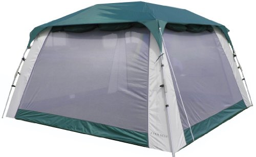 Pinnacle Tents Screen Tent with Awnings and Side Walls Quick Set