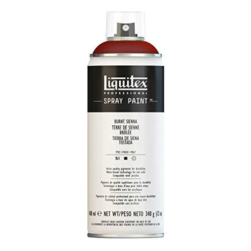 Liquitex 02445 Bombe de peinture aérosol 400 ml Terre de sienne brulée