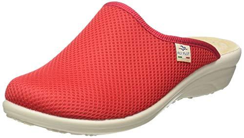Flyflot Damen 855270 Pantoffeln, Rot (Rot 06), 39 EU