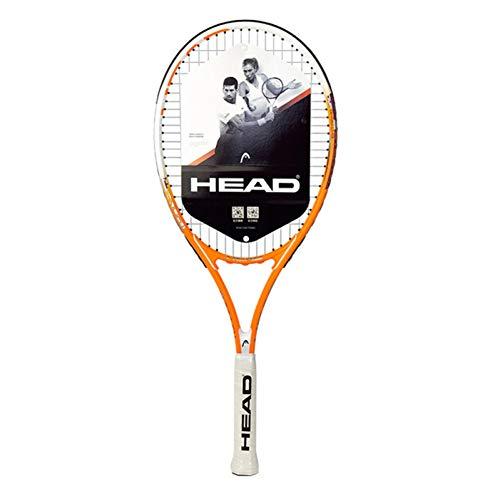 MLPNJ Raqueta de Tenis de Aluminio y Carbono Profesional Single Padel raquete de Tenis para Hombres Mujeres Principiantes Grip Size 2