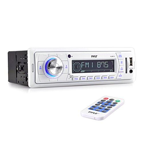 Pyle PLMR18 MARINE RADIO PYLE AM/FM; REMOTE; CARDREADER + USB PORT