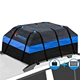 Copsrew Upgrade 20 Cubic ft Car Roof Bag & Rooftop Cargo Carrier 100% Waterproof...
