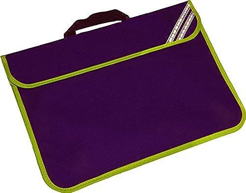 Kinder verbessert Hi Viz reflektierende Schulbuchtasche (Lila)