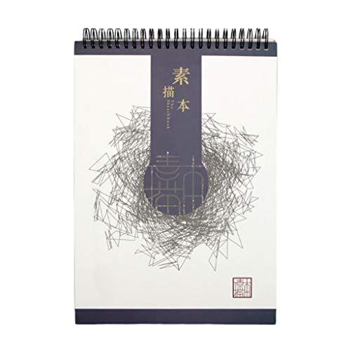 Haorw Libro de bocetos, Cuaderno de bocetos de Acuarela, Bloc de Notas, Pintura, Dibujo, Diario, Cuaderno, Pintura, Dibujo, Suministros para Artistas, 5#