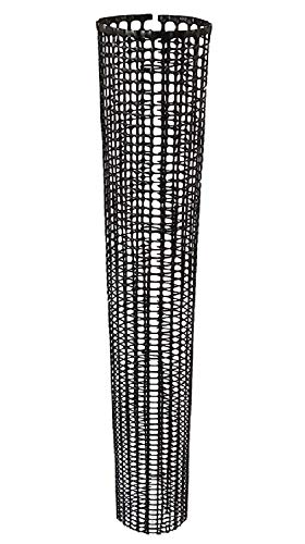Voglund Nursery Mesh Tree Bark Protector 48 Inches Tall (5 Pack) with Zip Ties